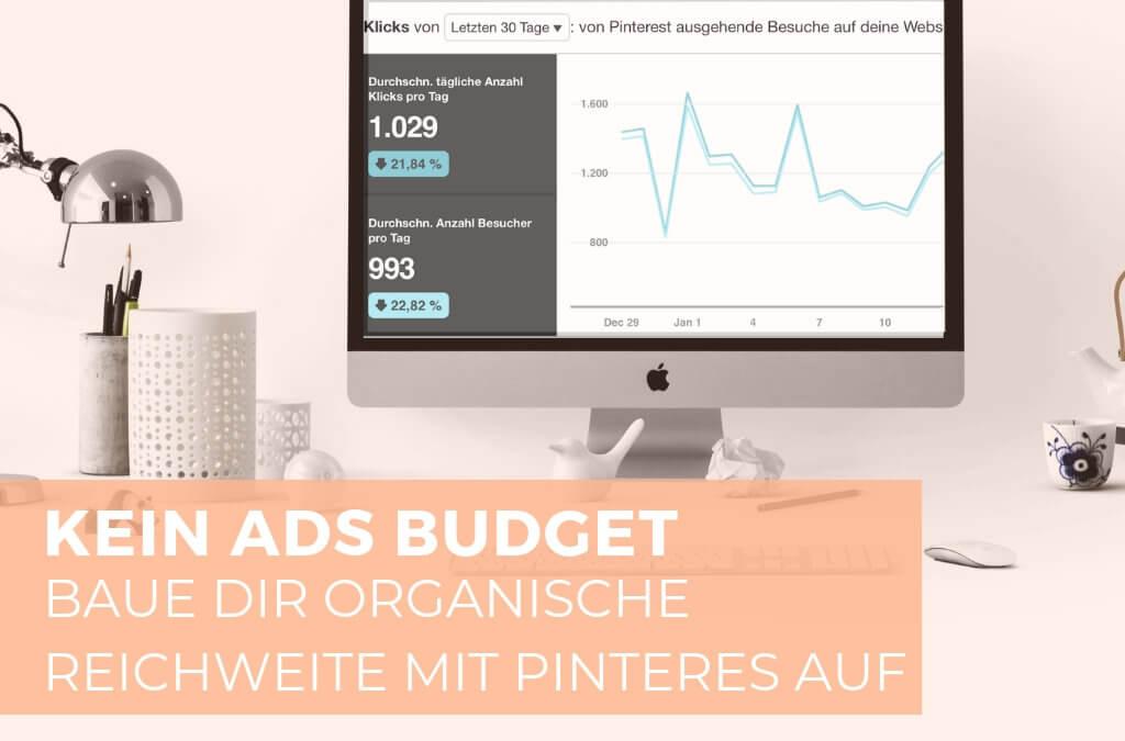 🎙Kein Ads Budget! Baue dir mit diesen 7 Tipps auf Pinterest organische Reichweite auf | Pinsights Podcast #04