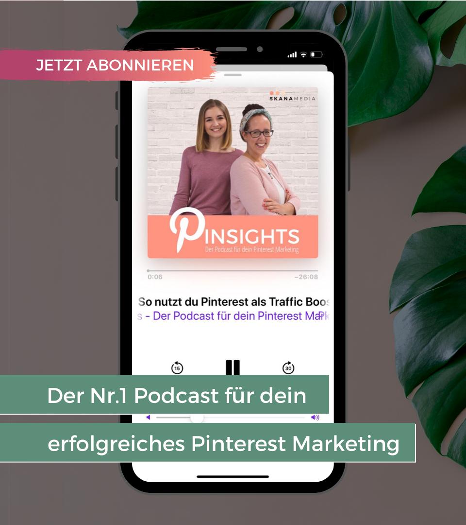 Deutscher Pinterest Podcast für Anfänger, Fortgeschrittene und Profis