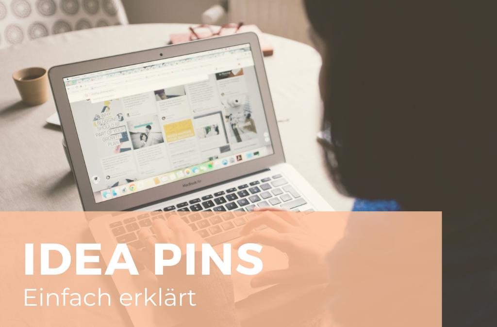Idea Pins einfach erklärt