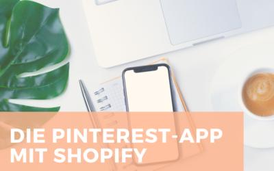 Die Pinterest-App mit Shopify