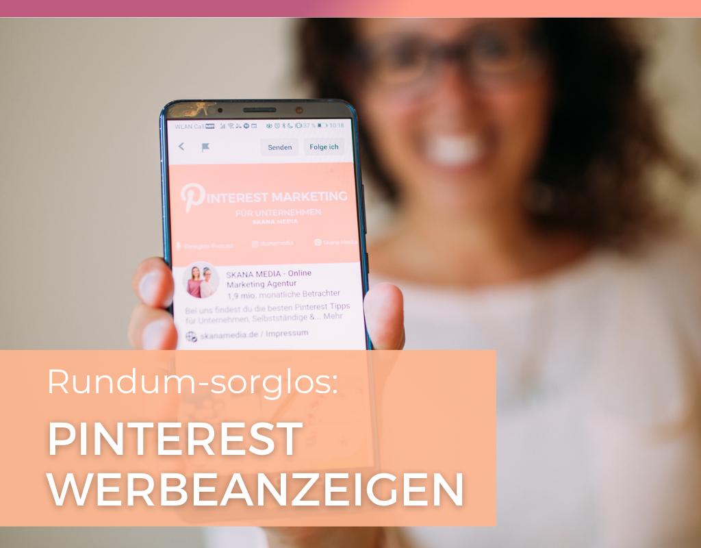 Die deutsche Pinterest Marketing Agentur unterstützt dein Unternehmen beim Schalten von Kampagnen von Pinterest. Umsetzung und Coaching für deine Pinterest Werbeanzeigen bzw. Pinterest Ads.